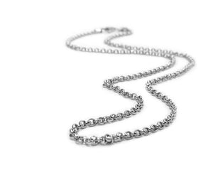 Belle Etoile Sterling Silver Chain - Thin Rolo