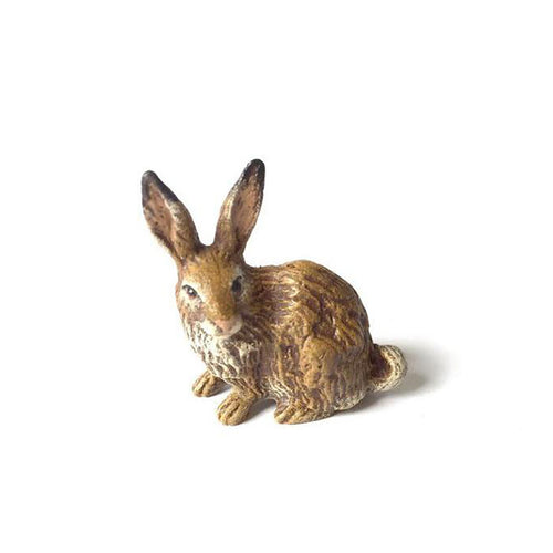 Small Rabbit Vienna Bronze Figurine
