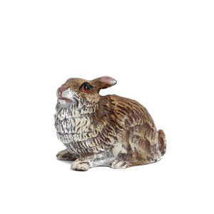 Rabbit Small Vienna Bronze Figurine