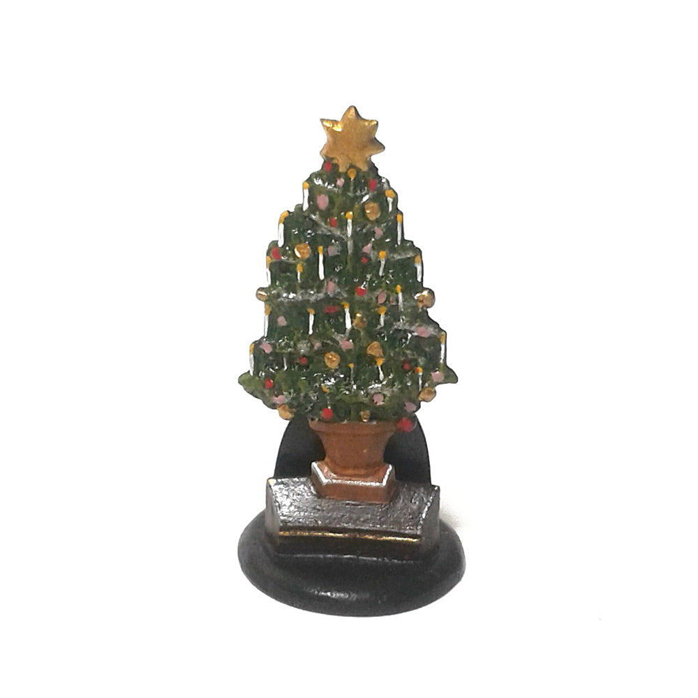 Christmas Tree Vienna Bronze Figurine