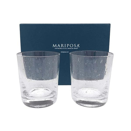 Mariposa Bellini Double Old Fashion Glass Gift Box