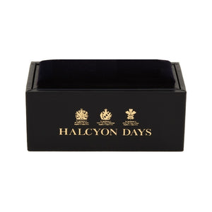 Halcyon Days Single Agama Navy & Gold Cufflinks