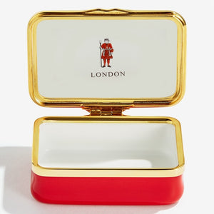 "Halcyon Days ""London City Landmarks"" Enamel Box"