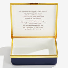 "Load image into Gallery viewer, Halcyon Days ""A Very Special Relationship - Large"" Enamel Box"