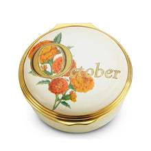 "Load image into Gallery viewer, Halcyon Days ""October"" Enamel Box"