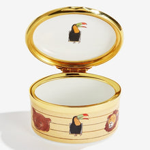 "Load image into Gallery viewer, Halcyon Days ""Noah's Ark All Aboard"" Enamel Box"