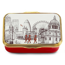 "Load image into Gallery viewer, Halcyon Days ""London City Landmarks"" Enamel Box"