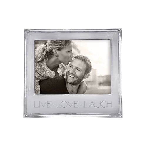 Mariposa LIVE LOVE LAUGH Signature 5x7 Statement Frame