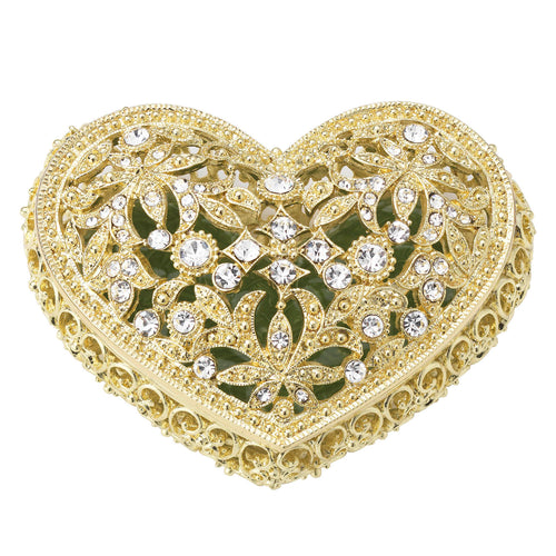 Olivia Riegel Gold Luxembourg Heart Box