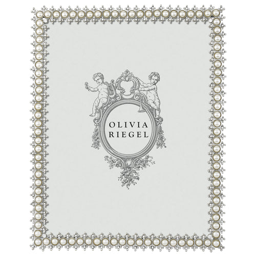 Olivia Riegel Silver Crystal & Pearl 8