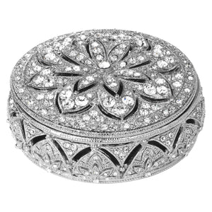 Olivia Riegel Silver Windsor Round Box