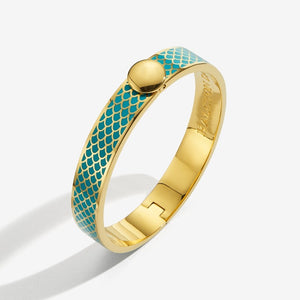 "Halcyon Days ""Salamander Turquoise & Gold"" Bangle"