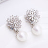 Ģorgina Pearl Dangle Earrings