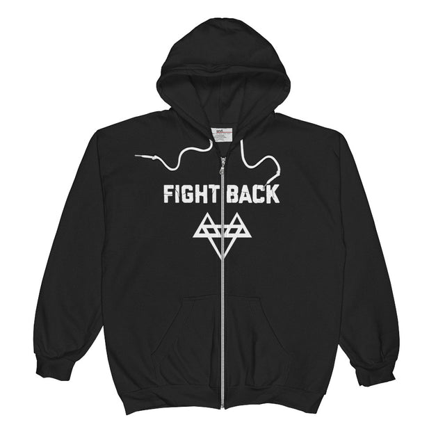 Fight Back Project Zip Hoodie
