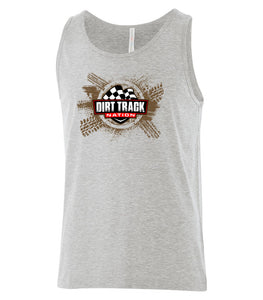 """Dirt Track Nation"" Men's Tank Top"