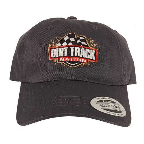 Dirt Track Nation Charcoal Slouch Hat