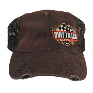 Dirt Track Nation Scuffed Mesh Hat