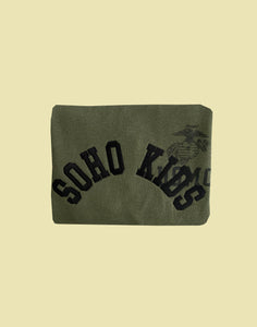 Army Green Soho Kids Jumper