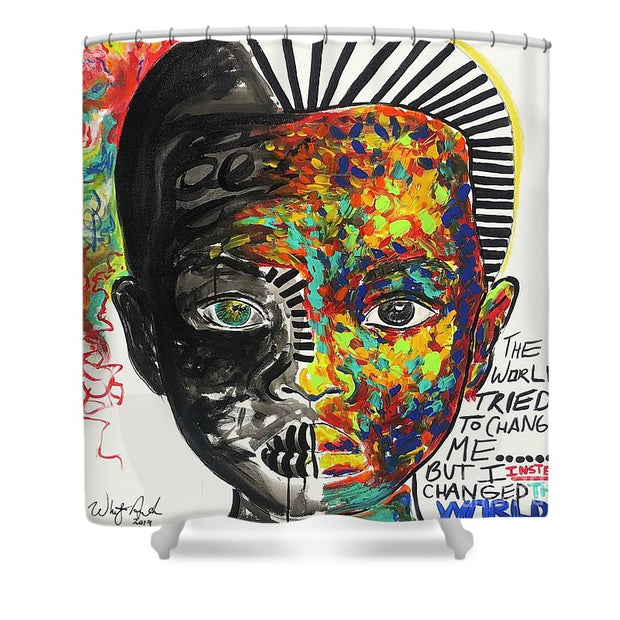 Be The Change - Shower Curtain