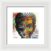 Be The Change - Framed Print