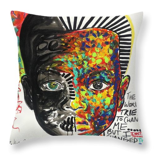 Be The Change - Throw Pillow