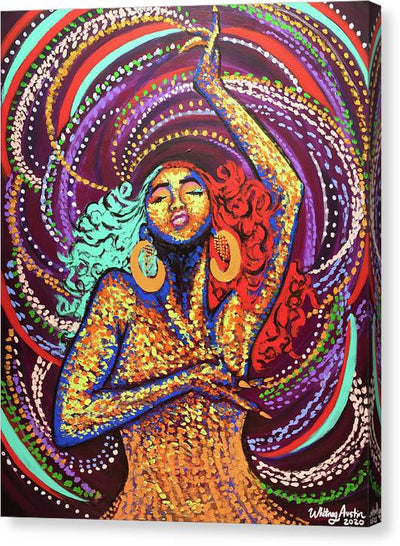 Black Girl Magic  - Canvas Print