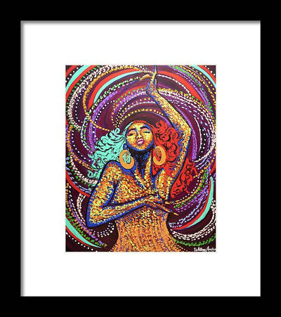 Black Girl Magic  - Framed Print