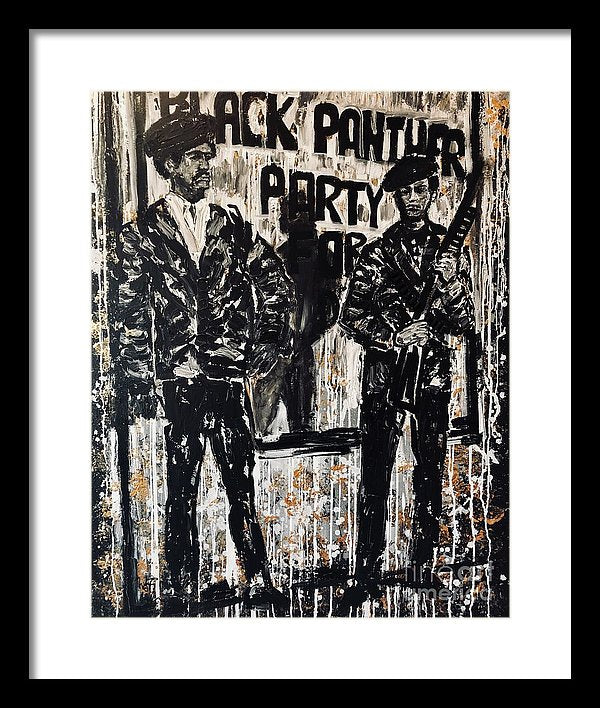 Bobby And Huey - Framed Print