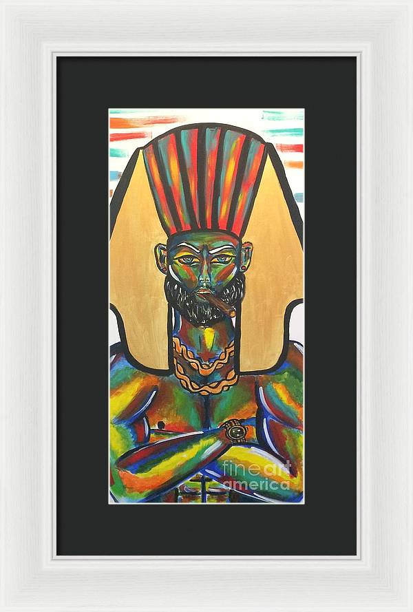 Boss King - Framed Print
