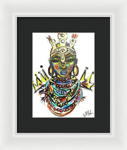 Courage  - Framed Print