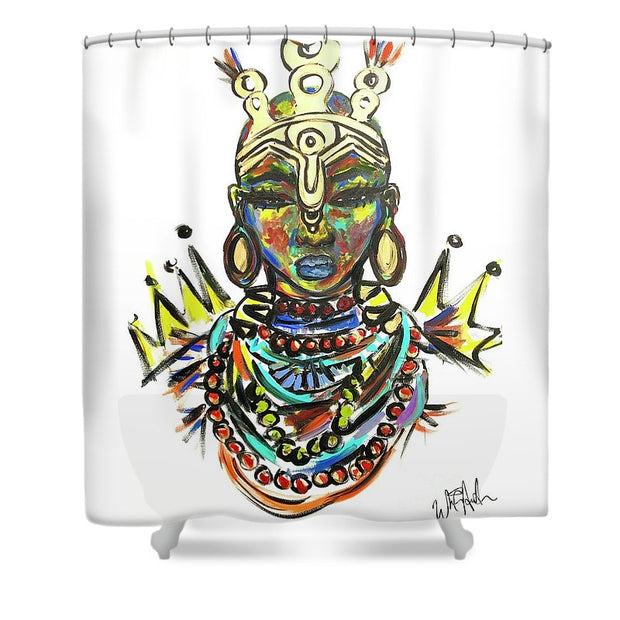 Courage  - Shower Curtain