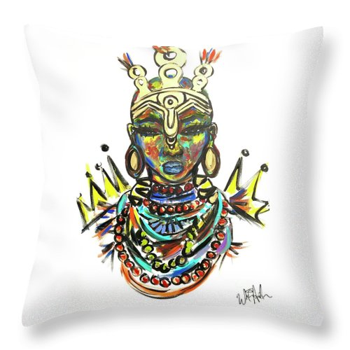 Courage  - Throw Pillow