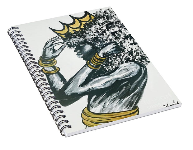 Crowned - Spiral Notebook