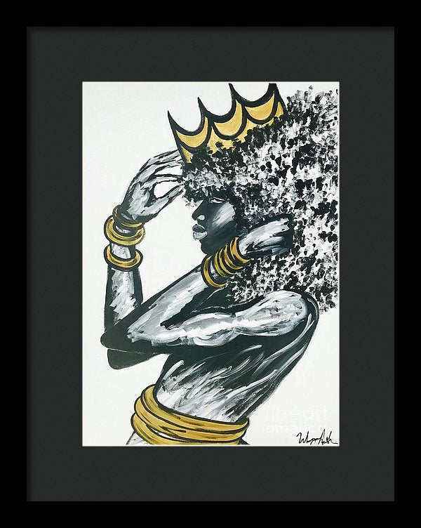 Crowned - Framed Print