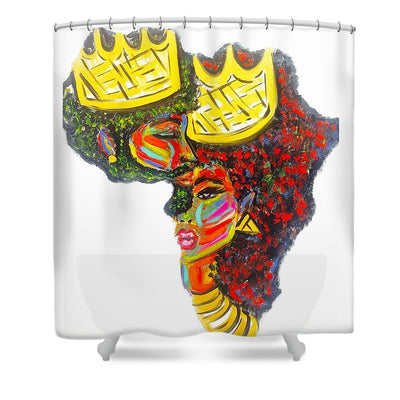 Deeply Rooted - Shower Curtain