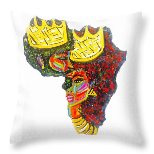 Deeply Rooted - Throw Pillow