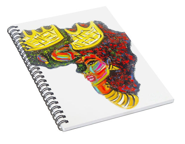Deeply Rooted - Spiral Notebook