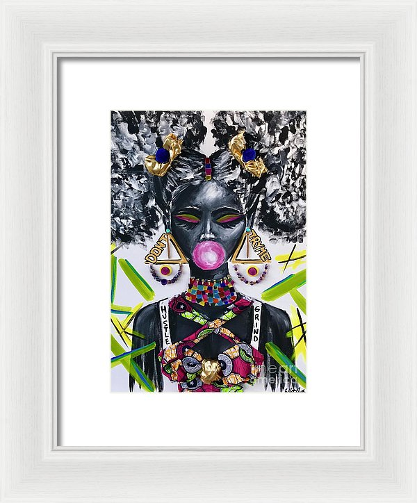 Dont Try Me - Framed Print