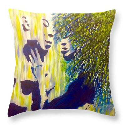 Emotional Camouflage - Throw Pillow