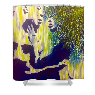 Emotional Camouflage - Shower Curtain