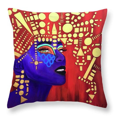 Fierce - Throw Pillow