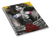 Garden Rose - Spiral Notebook