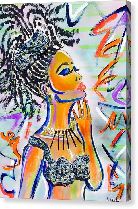 Goddess - Canvas Print