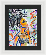 Goddess - Framed Print