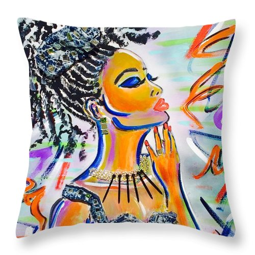 Goddess - Throw Pillow