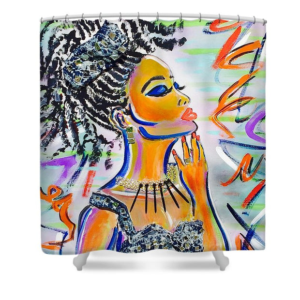 Goddess - Shower Curtain