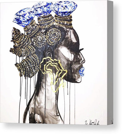I Am Diamonds - Canvas Print
