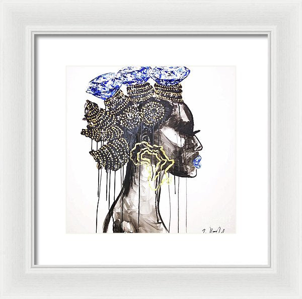 I Am Diamonds - Framed Print