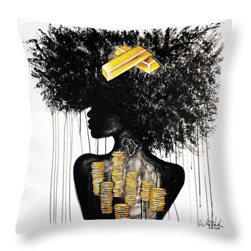 I Am Gold - Throw Pillow