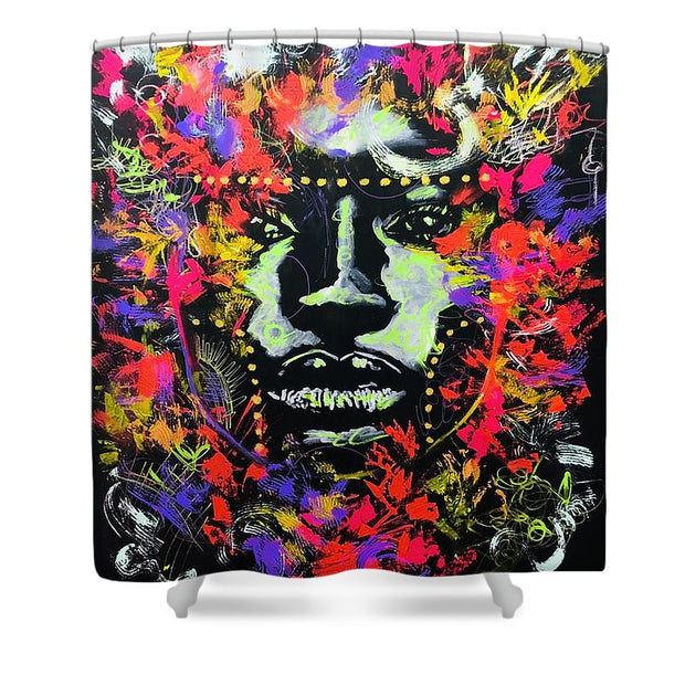 Intense - Shower Curtain